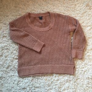 Club Monaco open knit sweater